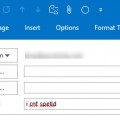 spell check email subject