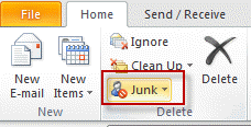 Configure Junk settings on each mailbox