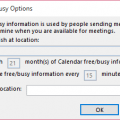 Internet Free/busy