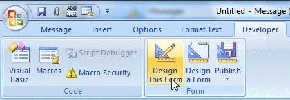 Edit Custom form