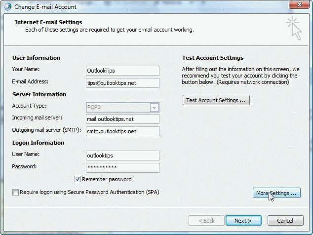 How To Create A New Outlook 2007 Or 2010 Profile