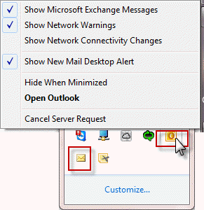 Outlook 2016's Attachments icons are huge