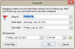 Tip 1007: Next Week flag reminder time bug?
