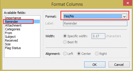 use a text field instead of icons
