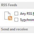 Outlook Duplicates RSS Items