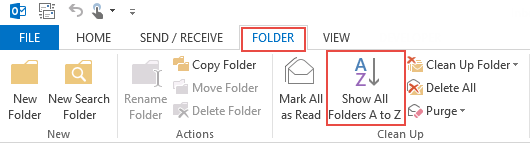 soft folders alphabetically