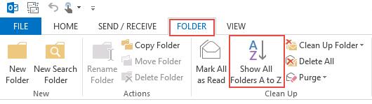 soft folders alphabetically