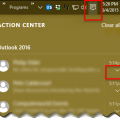 Windows 10 and Outlook's New Email Notifications