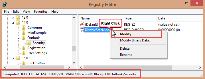 how to run reg key on a mac