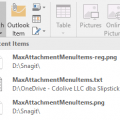 Change How Many Attachments are Listed in Attach File
