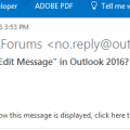 Edit the Subject in Outlook Email Messages