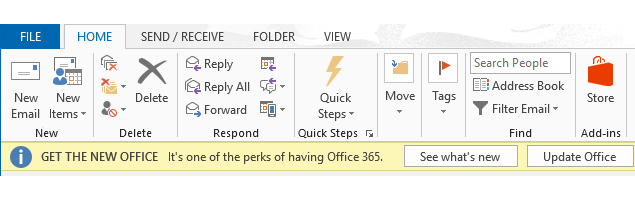 Remove Office 2013 Upgrade Banner
