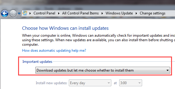 change setting to let me choose