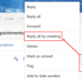reply all by meeting