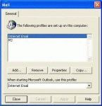 How to Create a New Outlook 2000 Profile