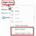 Tip 1084: Add to Contacts in Outlook 2013