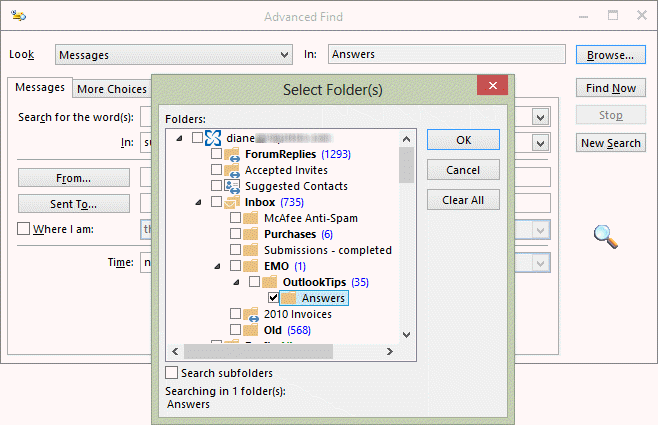 how to create archive folder in outlook 2013