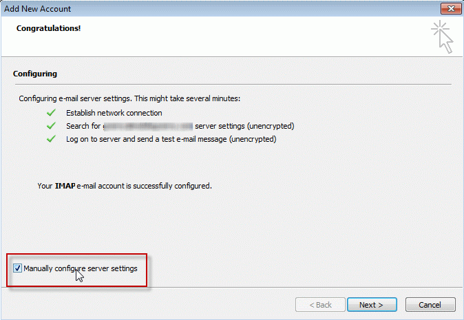 Tip 1040: An encrypted connection to your mail server is not available