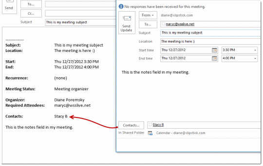 how to send meeting invite in outlook