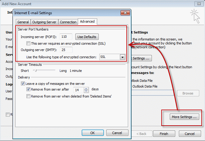 skype how to find connection port