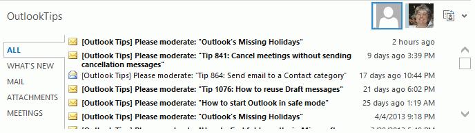 Tip 1086: Outlook People Pane is missing